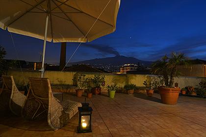 Etna - Etna depuis la terrasse