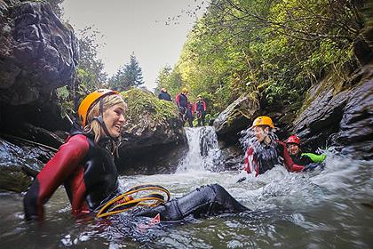 Les Gorges de la rivière Alcantara - Body rafting dans l'Alcantara